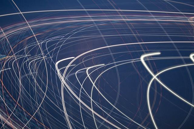 周波数を変えて通信速度を速くする