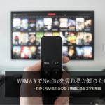 WiMAXでNetflixを見れるのか解説