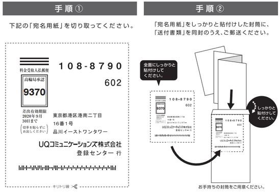 UQ WiMAXを種類で解約する